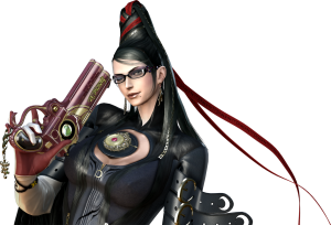 Bayonetta image from the Sega-provided fansite kit