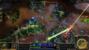 League of Legends Dominion gameplay