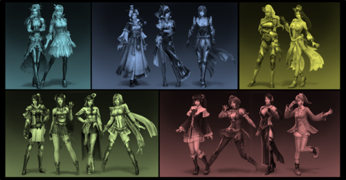 The Women of Dynasty Warriors