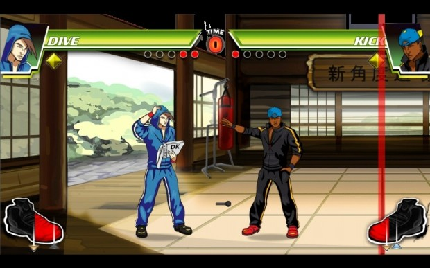 "Screenshot from ""Divekick"""