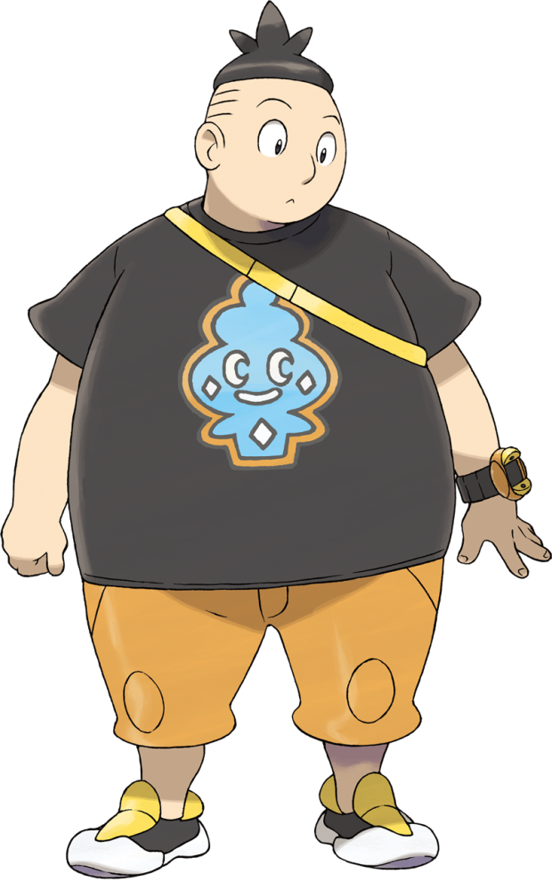 Tierno from Pokemon X/Y