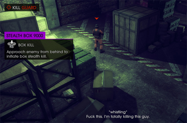 "Saints Row 4: ""Box kill"""