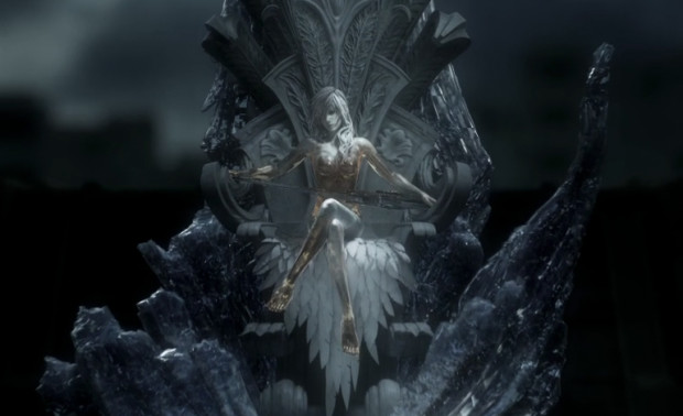 Lightning in crystal sleep on Etro's throne