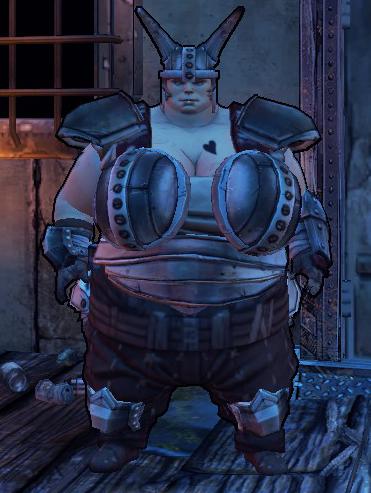 """Ellie in the """"sensible"""" armor"""