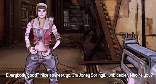 Borderlands the Pre-Sequel's Janey Springs