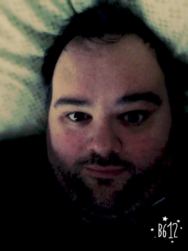 """""""Accidental Bed"""" selfie"""