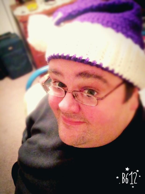 """Santa Hat"" selfie"