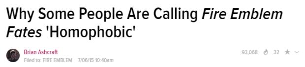 Ashcraft headline for FE:Fates Soleil story