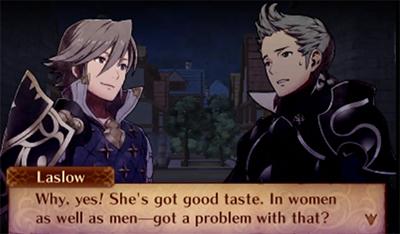 Laslow defending Soleil's taste in women